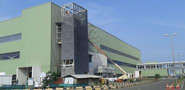 Industrial Projects in India & Bhutan | Rohan Builders